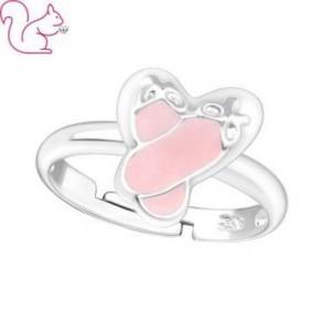 Balerina cipő gyermek gyűrű