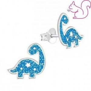 Csillámos kék brontoszaurusz