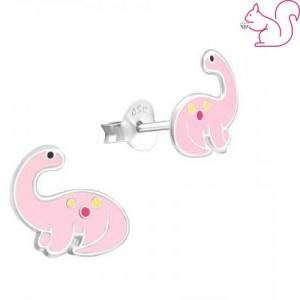 Dinoszaurusz fülbevaló, brontoszaurusz