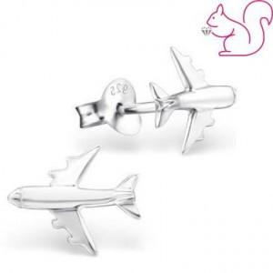 Repülő ezüst fülbevaló