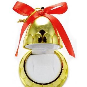 Arany harang ékszertartó doboz