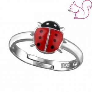 Katicabogaras gyerek gyűrű