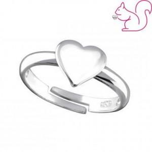 Szív gyerek gyűrű