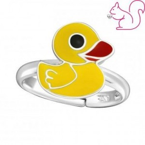 Sárga kacsa gyűrű