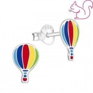Hőlégballon gyerek fülbevaló