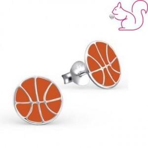 Kosárlabda fülbevaló