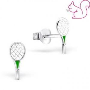 Teniszütő fülbevaló