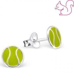 Teniszlabda fülbevaló
